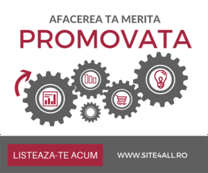 Promoveaza-ti afacerea in Catalogul de Firme Site4All!