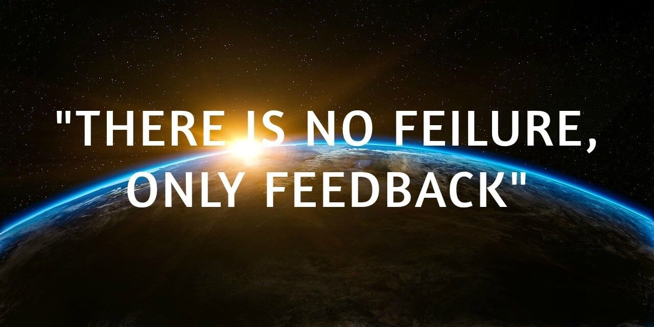 Feedback negativ? Yes, please!
