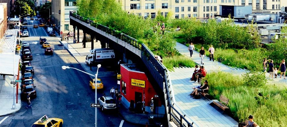 High Line - parcul suspendat din Manhattan