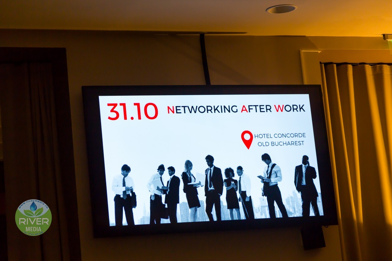 Prima editie Networking After Work - despre PR, prioritati si antreprenoriat